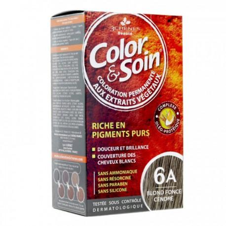 COLOR & SOIN BLOND FONCE CENDRE 6A