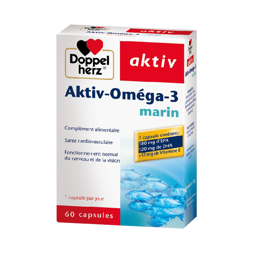 AKTIV-OMEGA3 MARIN BT/60 Capsules