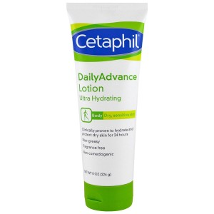 Cetaphil DailyAdvance Ultra Hydrating Lotion for Dry/Sensitive Skin 225g