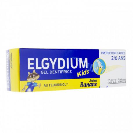 ELGYDIUM DENTIFRICE KIDS BANANE 2-6ANS