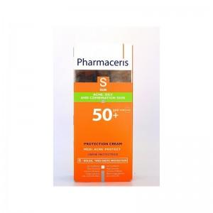 PHARMACERIS SUN ACNE,OILY AND COMBINATION SKIN SPF50+