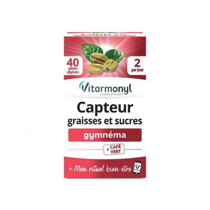 Vitarmonyl Capteur graisses et sucres BT/40 gélules