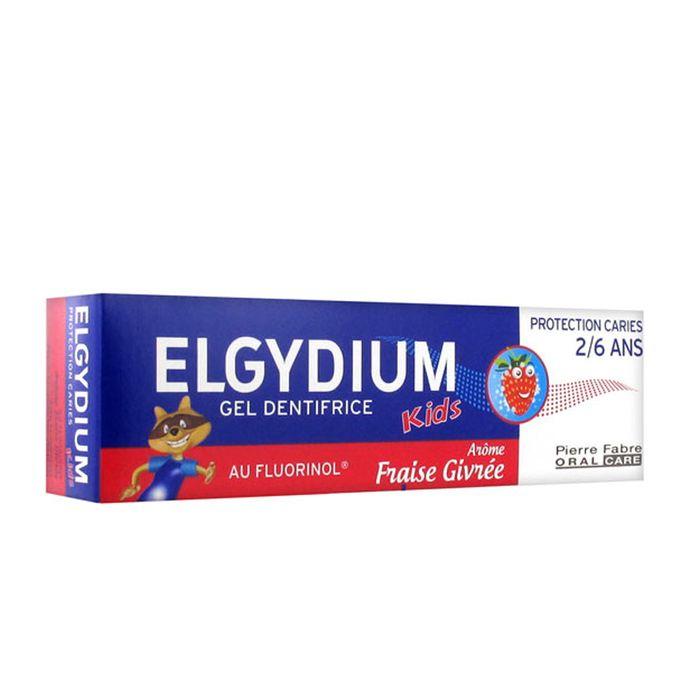 ELGYDIUM DENTIFRICE KIDS FRAISE 2-6 ans