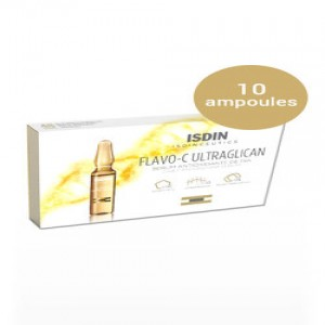 ISDIN FLAVO-C ULTRAGLICAN SERUM 10 UNIDOSES