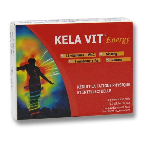 KELA VIT ENERGIE BT/30 Gélules
