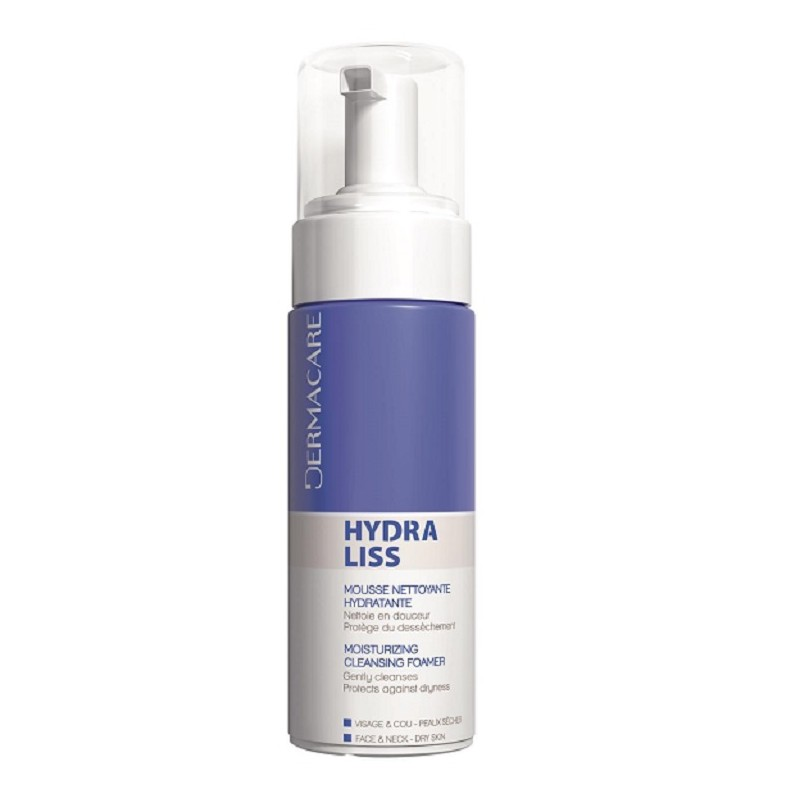 DERMACARE HYDRALISS MOUSSE NETTOYANTE HYDRATANTE 150ML