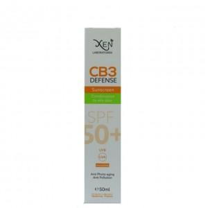 XEN CB3 DEFENSE ECRAN SOLAIRE SPF50+ peaux mixtes à grasses 50ml