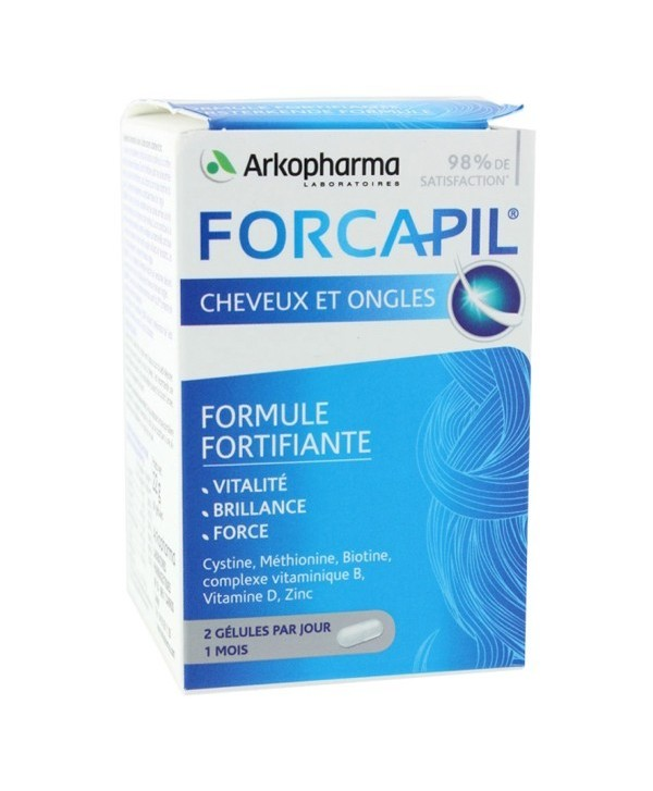 FORCAPIL Cheveux et ongles BT/180