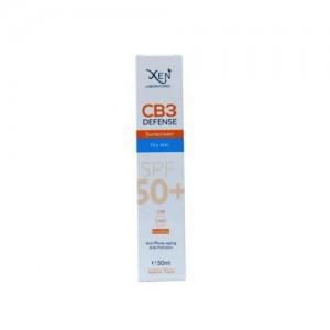 XEN CB3 DEFENSE ECRAN SOLAIRE SPF50+ peaux séches 50ml