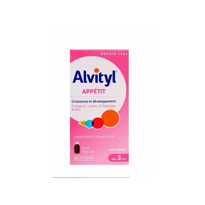 Alvityl Appétit sirop 100ml